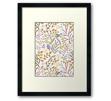 Autumnal Seed Framed Print