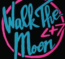 Walk The Moon Neon Logo  Sticker