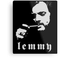 Lemmy - Motorhead Metal Print