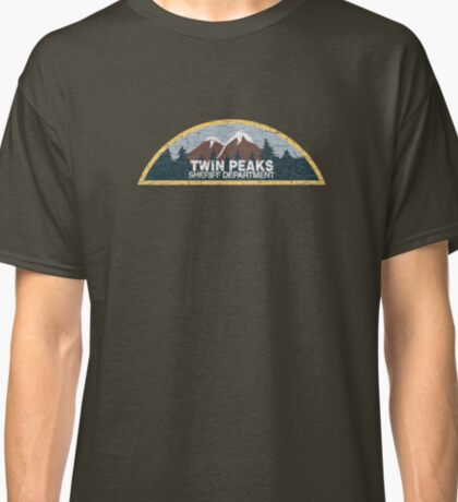 Twin Peaks Sheriff Department Classic T-Shirt