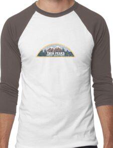 Twin Peaks Sheriff Department Men's Baseball ¾ T-Shirt