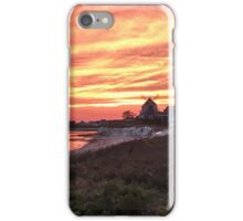 Reflections of an orange sky iPhone Case/Skin
