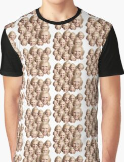 Mary Berry Print  Graphic T-Shirt