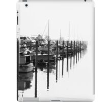 Ducks or Should I Say Boats in a Row  iPad Case/Skin