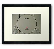 sony playstation Framed Print