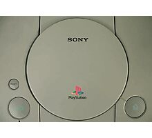 sony playstation Photographic Print