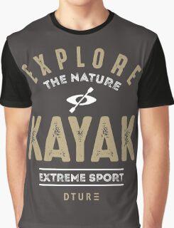 Kayak Graphic T-Shirt