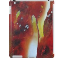 Red Inferno iPad Case/Skin