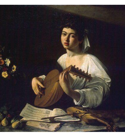 Caravaggio - Violinist Sticker