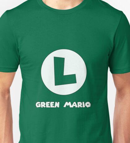 Green Mario (Luigi). Unisex T-Shirt