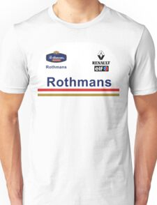 GP2 Tribute - Williams Unisex T-Shirt