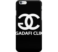 Gadafi Clik iPhone Case/Skin