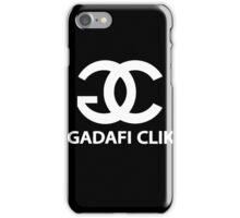 Gadafi Clik iPhone Case/Skin