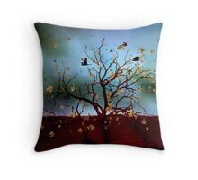 Scattered thoughts ... Throw Pillow