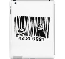 Barcode t-shirt iPad Case/Skin