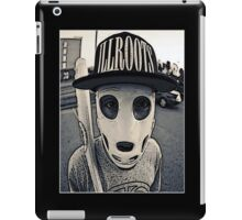 Baseball mask iPad Case/Skin