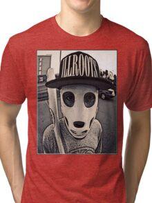 Baseball mask Tri-blend T-Shirt
