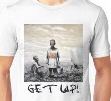 Banksy children tshirt graff GET UP! Unisex T-Shirt