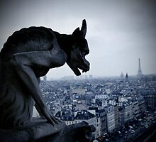 Lonely Gargoyle by antimotif