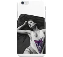 Your girl in the bed iPhone Case/Skin