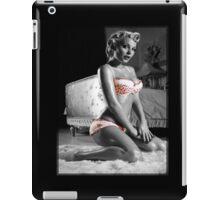 Pinup t-shirt girl lingerie iPad Case/Skin