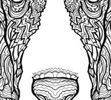 Basset Hound - Detailed Dogs - Illustration Sticker