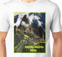 """MACHU PICCHU TRAVEL"" Advertising Print Unisex T-Shirt"