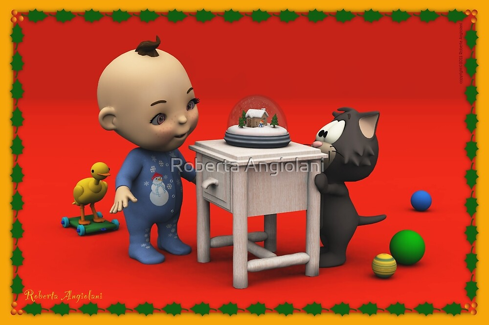 The Christmas of Baby Toon by Roberta Angiolani