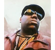 Biggie Smalls Notorious Rapp Autumn Dream Wrap by nikkiidaniels