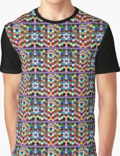 Warped Honeycomb Graphic T-Shirt
