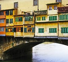Ponte Vecchio - Florence, Italy by Marilyn Harris