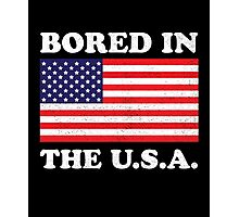 Bored In The USA Photographic Print