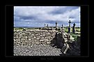 cemetery and dry stone wall by Roberta Angiolani