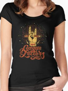League of Letters Women's Fitted Scoop T-Shirt