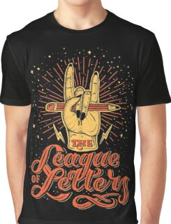 League of Letters Graphic T-Shirt