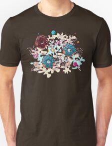 Sweet Blue Camo Unisex T-Shirt