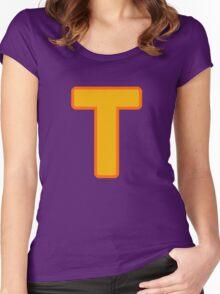 Token Black T-Shirt Women's Fitted Scoop T-Shirt