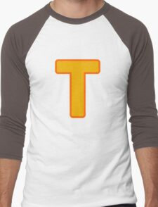 Token Black T-Shirt Men's Baseball ¾ T-Shirt