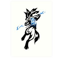 Alpha Dog Art Print