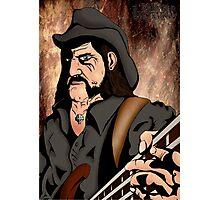 Lemmy (Motorhead) Photographic Print