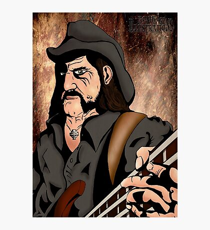 Lemmy (Motorhead) Photographic Print