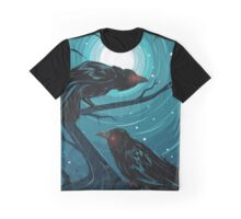 Hugin and Munin - Ravens of Odin Graphic T-Shirt