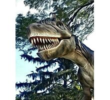 Terry the T-Rex Photographic Print