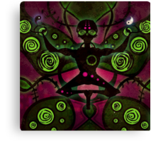 Enlightened Alien Canvas Print