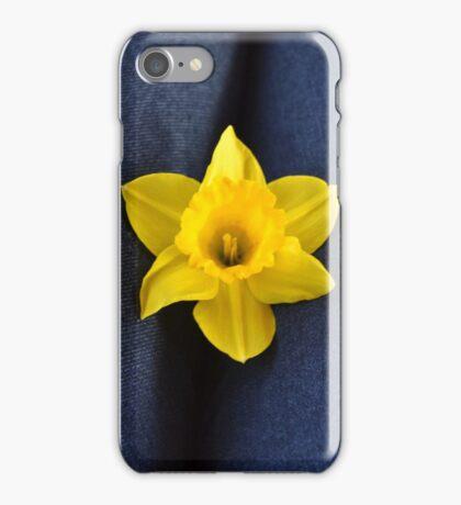 Denim Daffodil iPhone Case/Skin