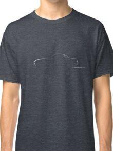 Profile Silhouette Mazda Miata - white Classic T-Shirt