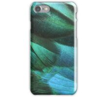 Iridescent feathers iPhone Case/Skin