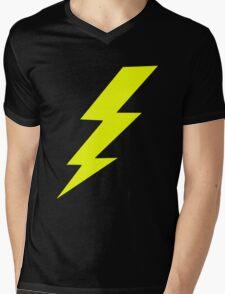 Lightning Bolt Shirt Mens V-Neck T-Shirt