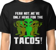 Tacos and Aliens  Classic T-Shirt