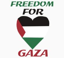 FREEDOM FOR GAZA Shirt by usubmit2allah